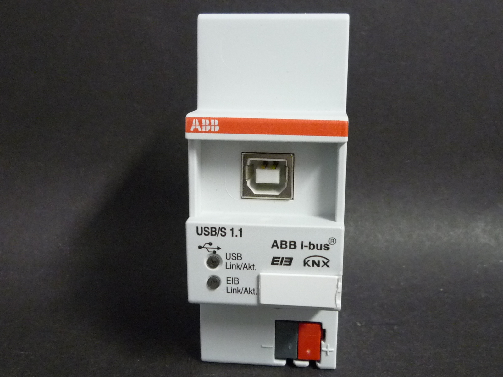 abb eib knx usb schnittstelle reg modell usb s 1 1 ebay. Black Bedroom Furniture Sets. Home Design Ideas