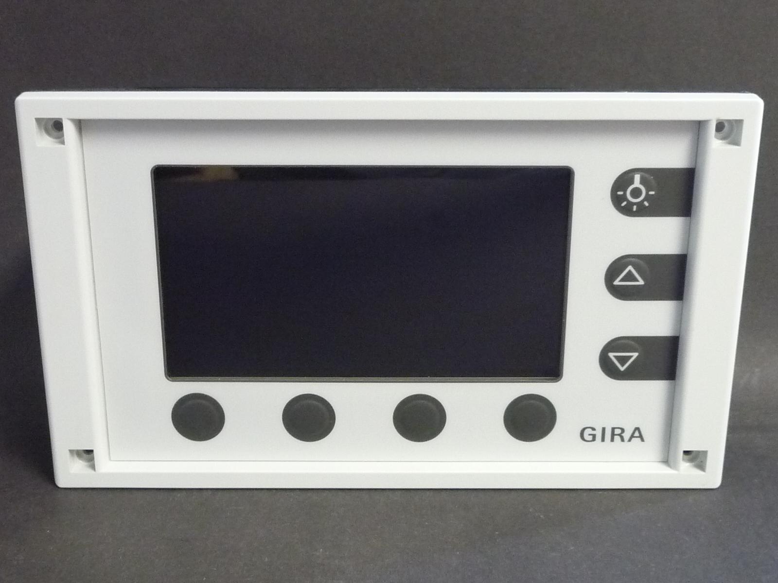 gira eib knx minitableau bedientableau lcd display mt 701 inkl geh use rahmen ebay. Black Bedroom Furniture Sets. Home Design Ideas